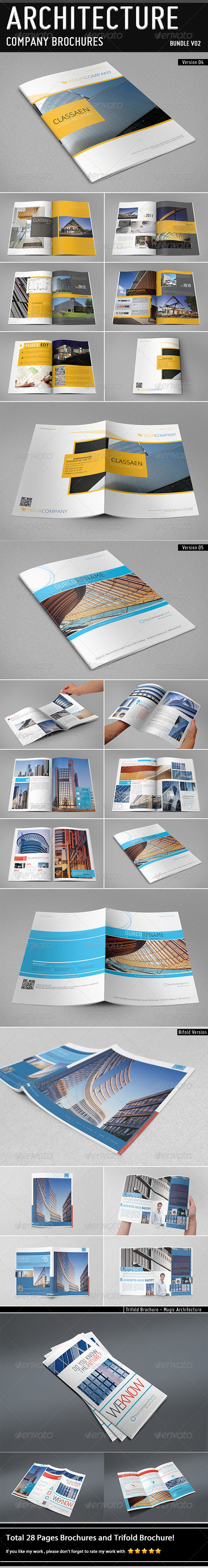 GraphicRiver Architecture Brochure Bundle V02 5097651