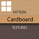 Cardboard Corrugated Surface Textures