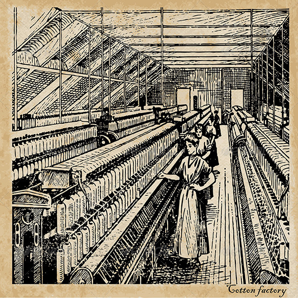 GraphicRiver Cotton Factory 5160707