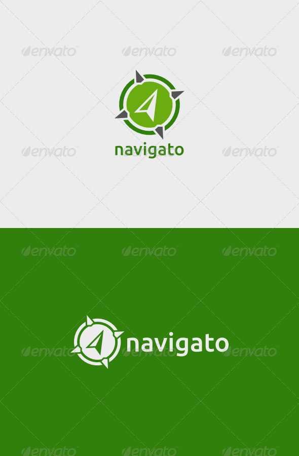 GraphicRiver Navigato Logo 5160799