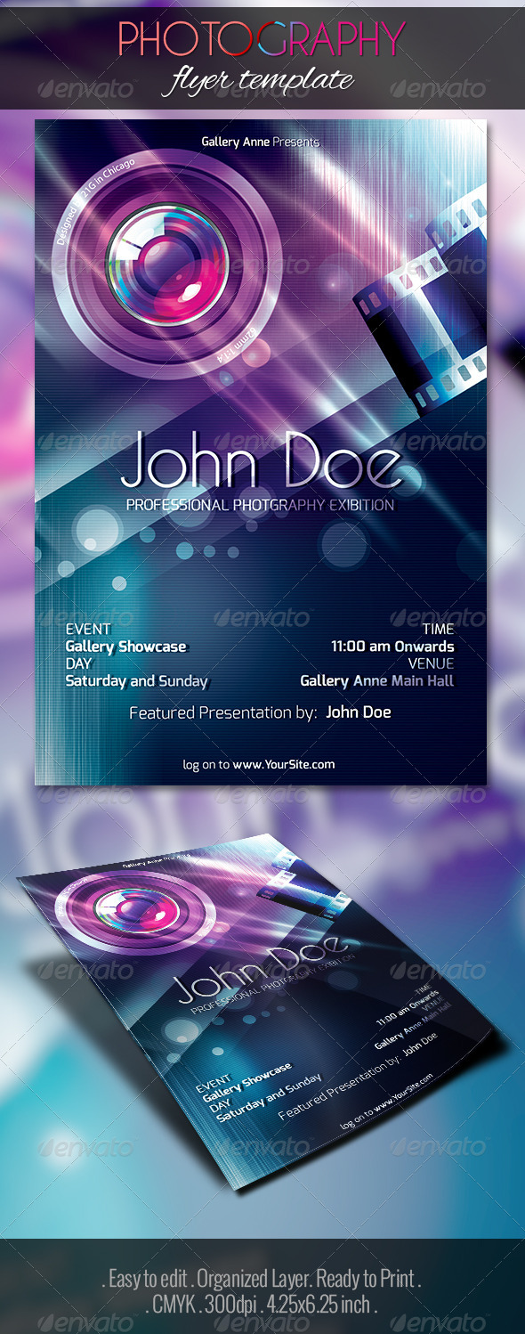 GraphicRiver Photography Exhibition Flyer 5160882