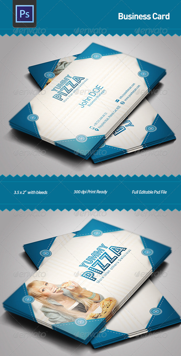 GraphicRiver Business Card 5092304