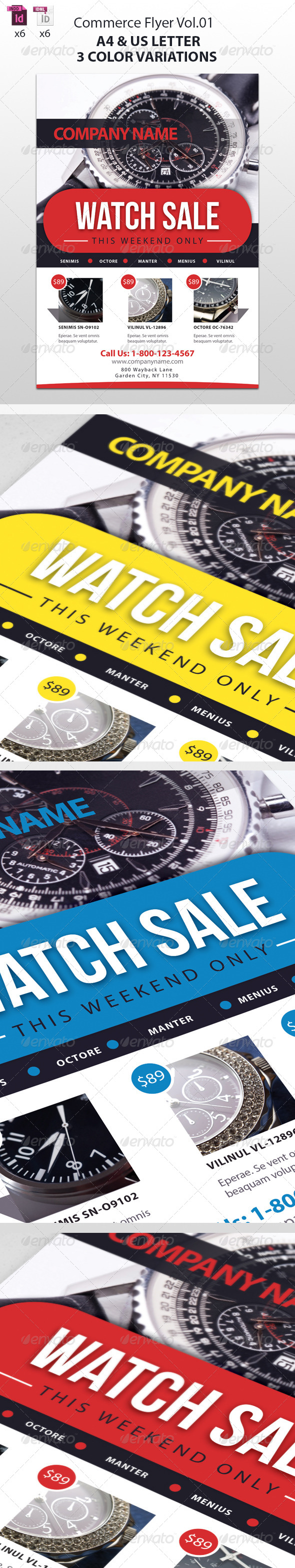 GraphicRiver Commerce Flyer Vol 01 5160968