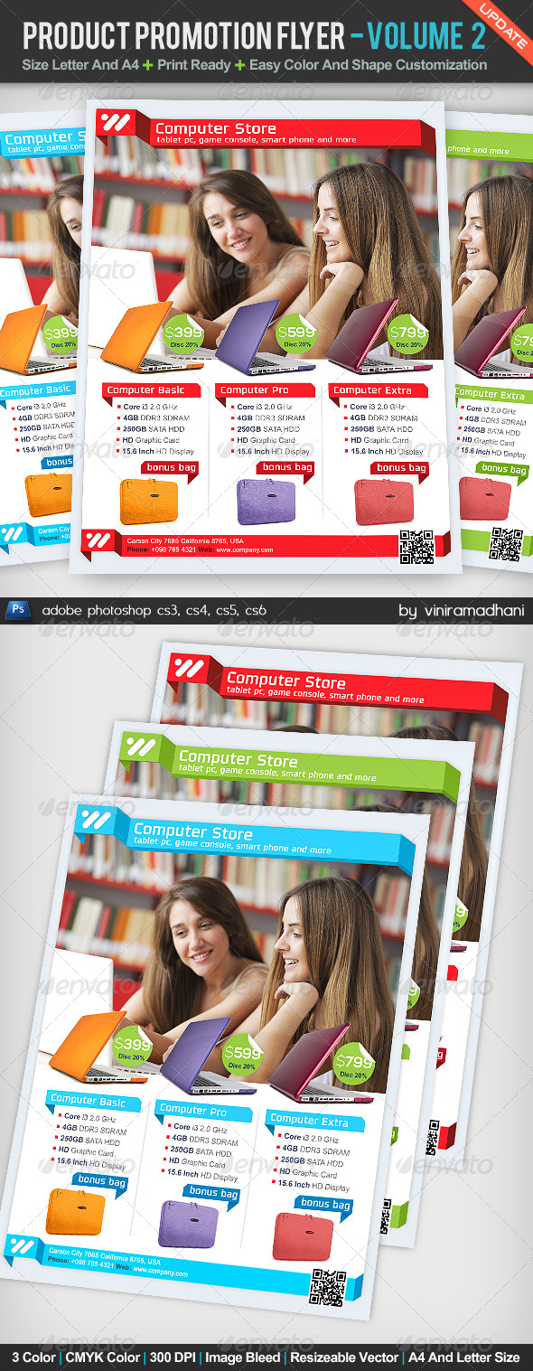 GraphicRiver Product Promotion Flyer Volume 2 5161400