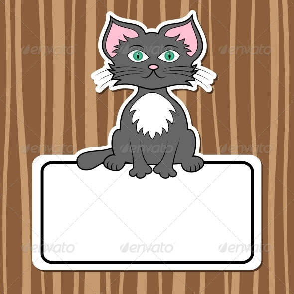 GraphicRiver Cartoon Cat 5161566