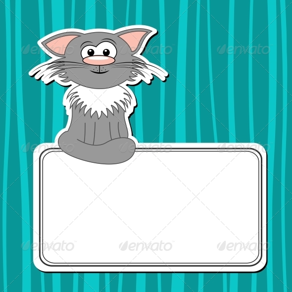 GraphicRiver Cartoon Cat 5161570