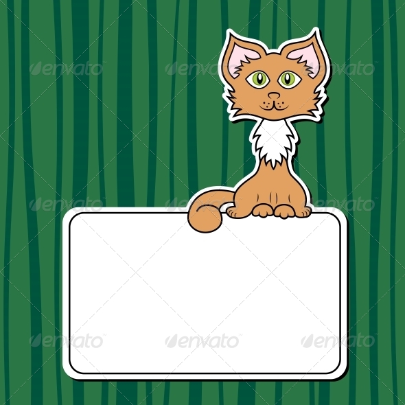 GraphicRiver Cartoon Cat 5161583