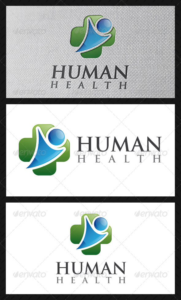 Human Health Logo Template