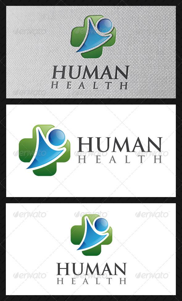 GraphicRiver Human Health Logo Template 5161699