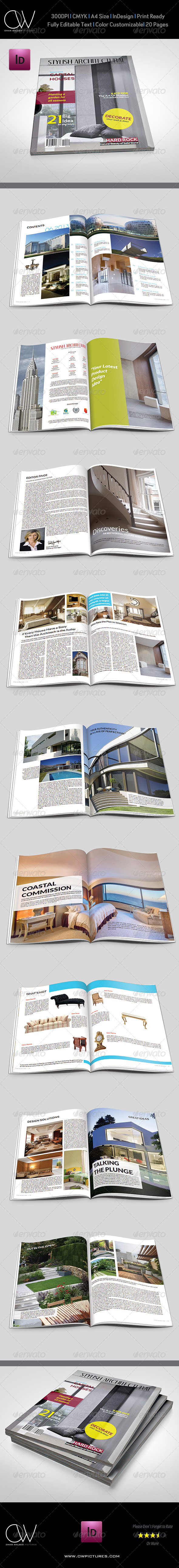 GraphicRiver Architectural Magazine 5161768