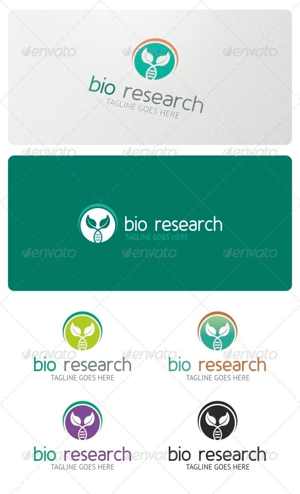 GraphicRiver Bio Research Logo Template 5162401