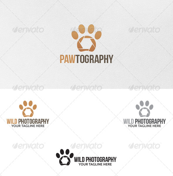 GraphicRiver Wild Photography Logo Template 5162408