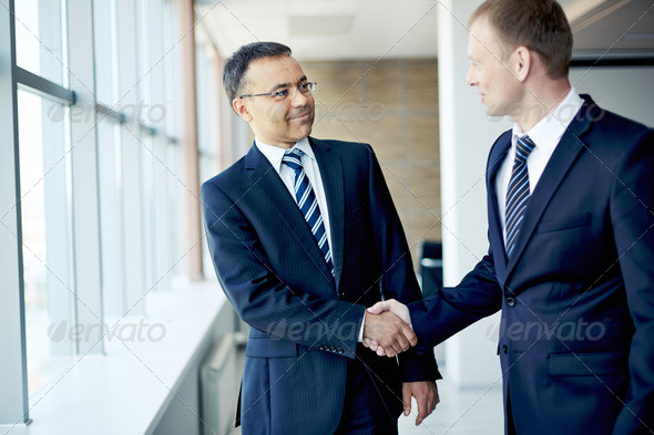 Business handshake - Stock Photo - Images