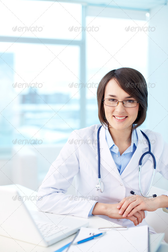 Modern medical worker - Stock Photo - Images