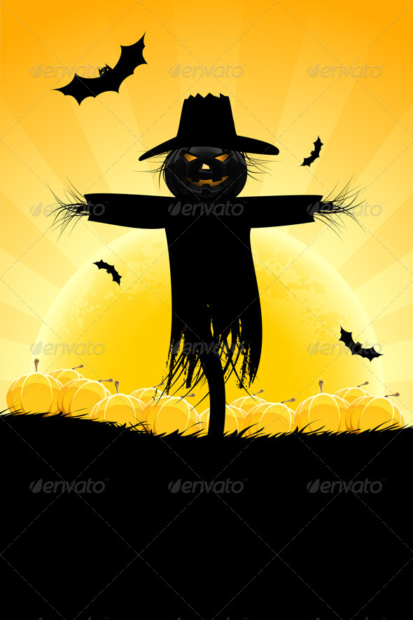 GraphicRiver Halloween Background 5163026