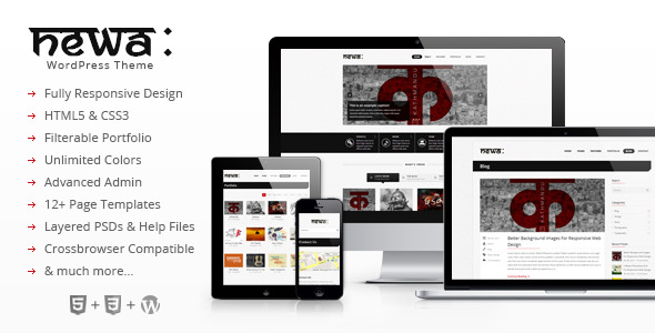 Newa: Responsive WordPress Theme