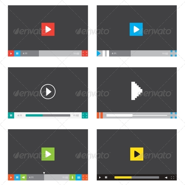 GraphicRiver Media Player 5163110