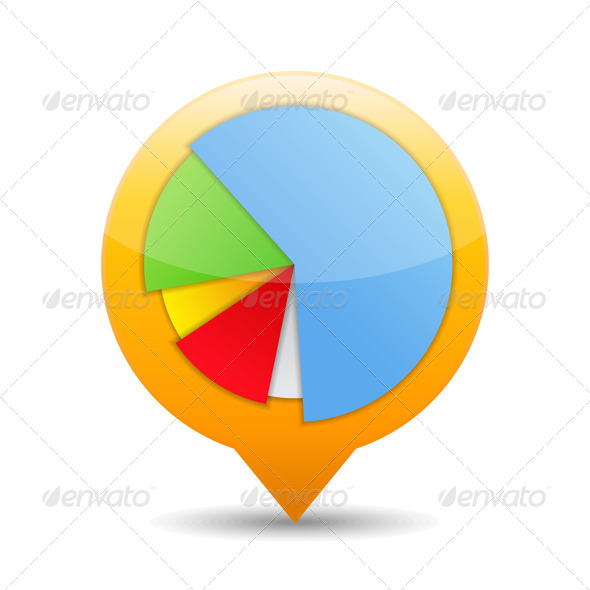 GraphicRiver Pie Chart Icon 5163262