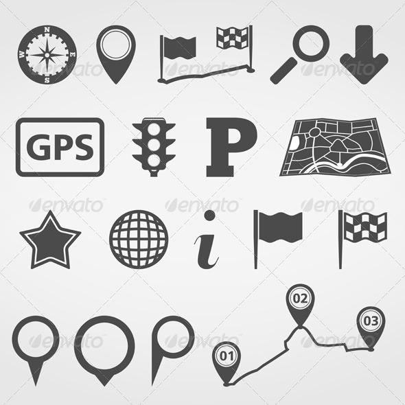 GraphicRiver Navigation Design Elements 5163282