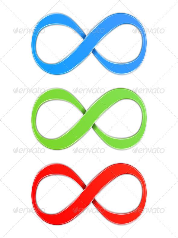 GraphicRiver Infinity Symbols 5163292