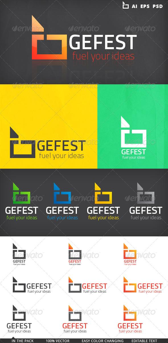 GraphicRiver Simple Shape Logo 5163364