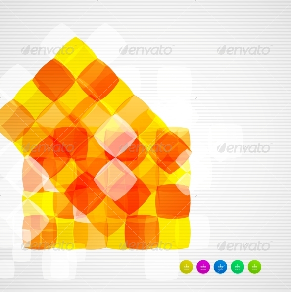GraphicRiver Abstract Squares Geometrical Modern Template 5163367