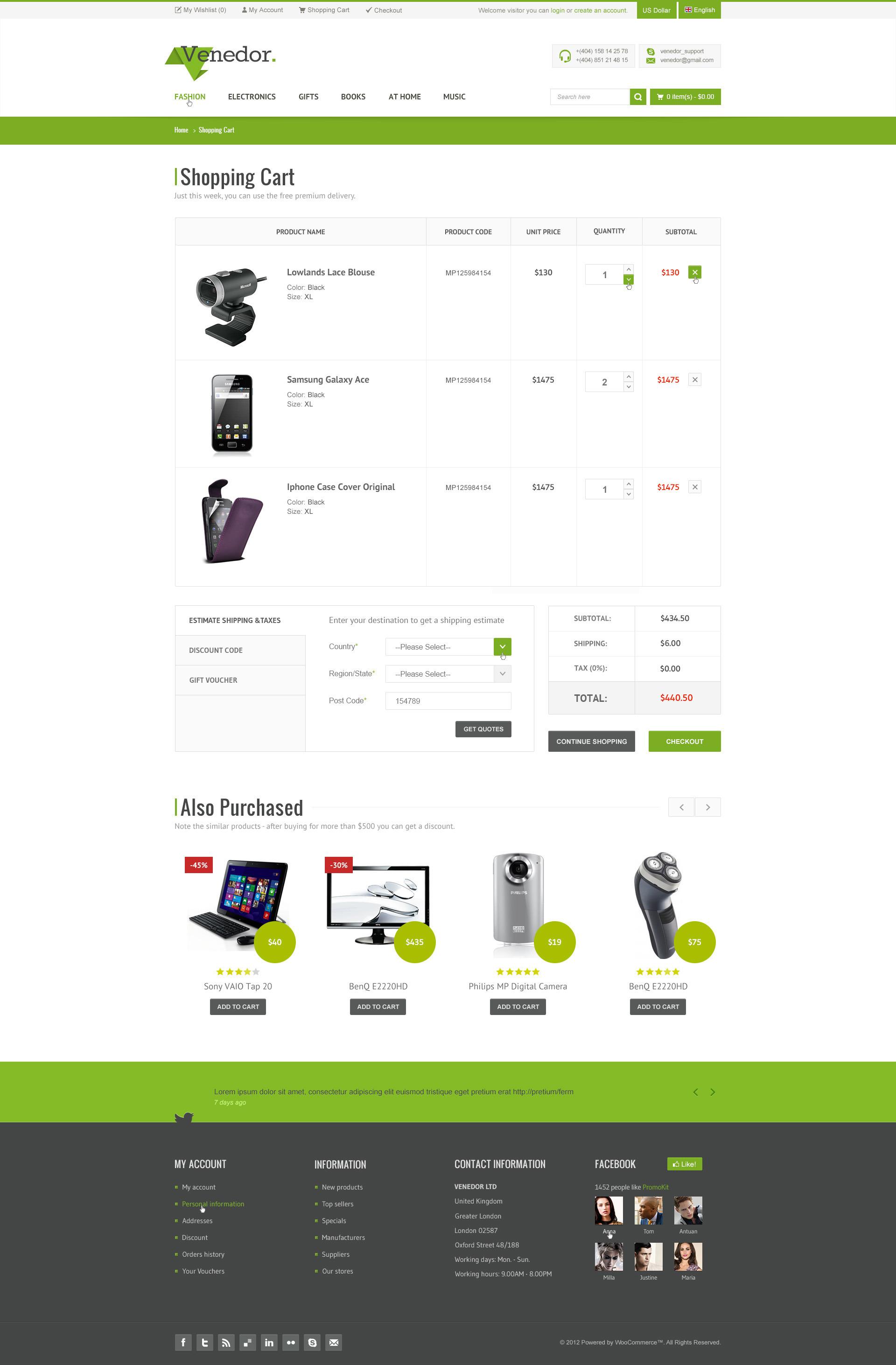 venedor bootstrap responsive ecommerce psd by marekmnishek themeforest. Black Bedroom Furniture Sets. Home Design Ideas