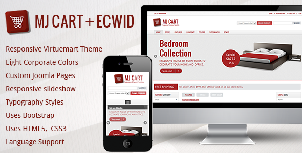 Mj Cart - Responsive Virtuemart Template - Shopping Retail