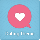 LoveStory – Dating WordPress Theme  Free Download