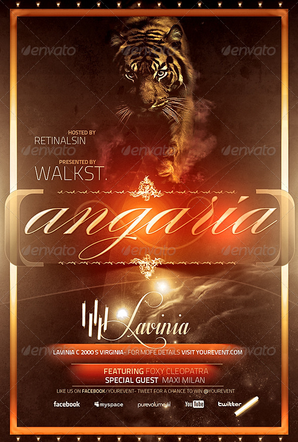 GraphicRiver Angaria Amazing Flyer Template 5163874