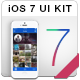Foto iOS 7 UI Design Kit iPhone 5  - GraphicRiver Item for Sale