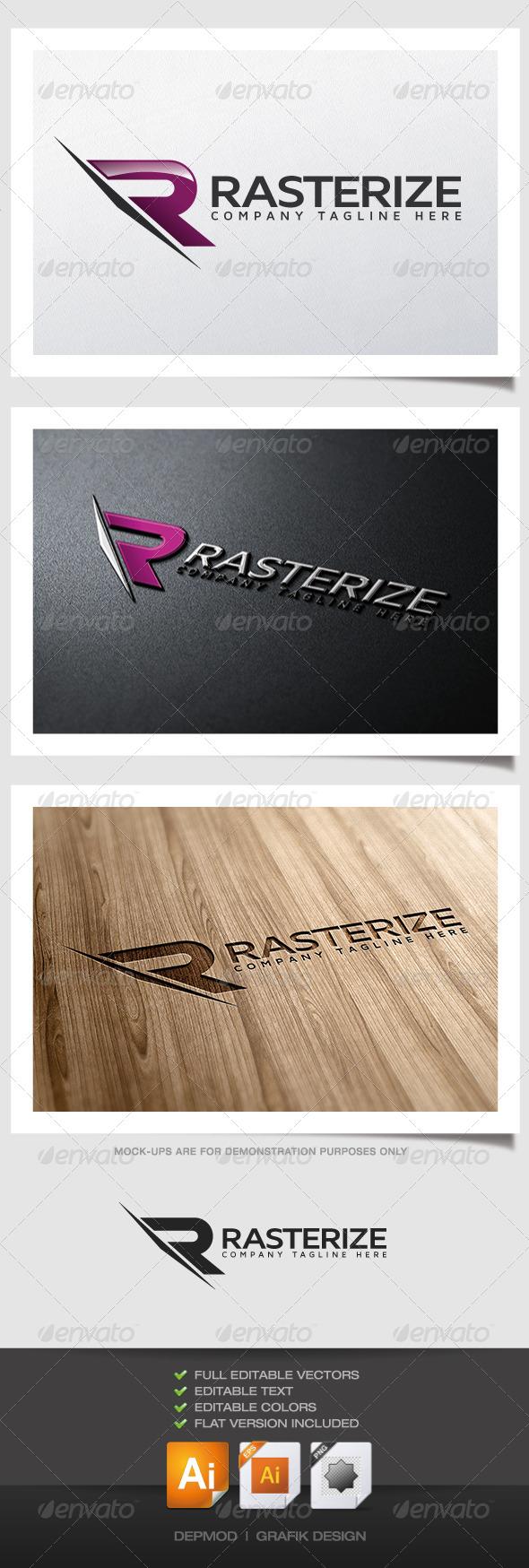 GraphicRiver Rasterize Logo 5164204