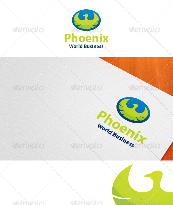 GraphicRiver Phoenix World Business Logo 5155627