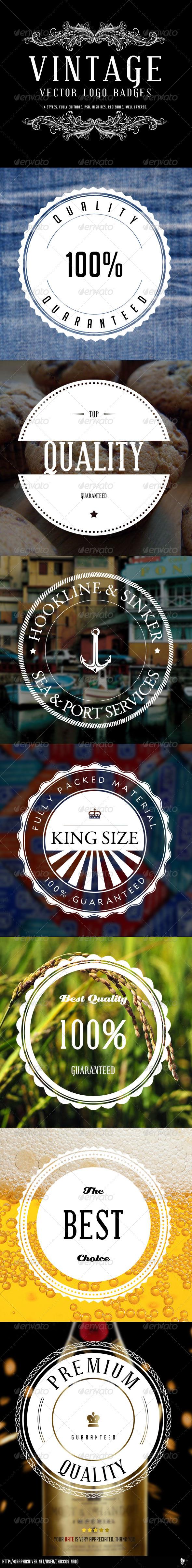 GraphicRiver Vintage Logo Badges Vol 2 5164822