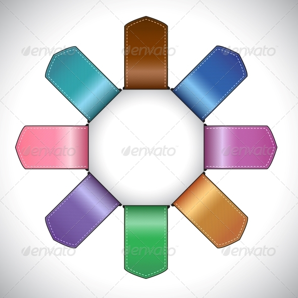 GraphicRiver Set of Colored Labels 5164855