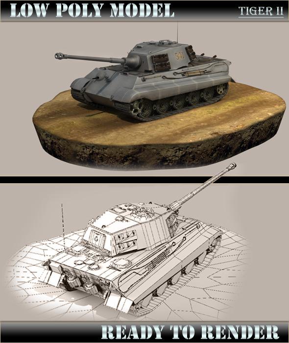 3DOcean Tiger 2 5165361