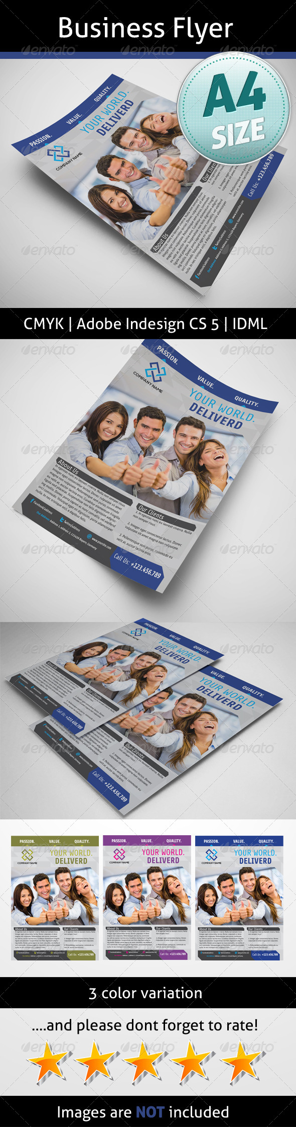 GraphicRiver Business Flyer 5166360