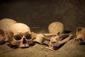 Macabre archaeological scene - PhotoDune Item for Sale