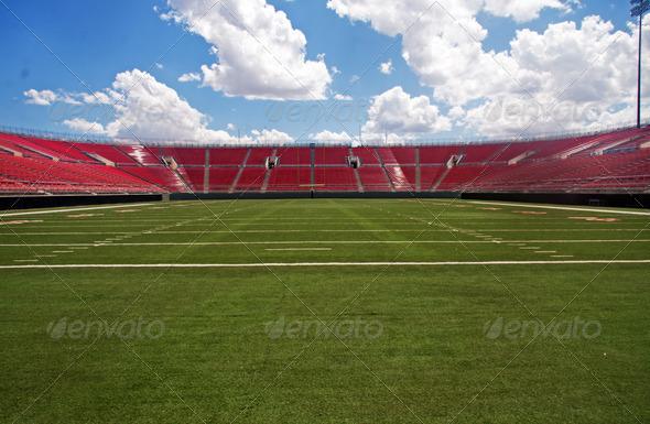 PhotoDune Empty American Football Stadium 533155