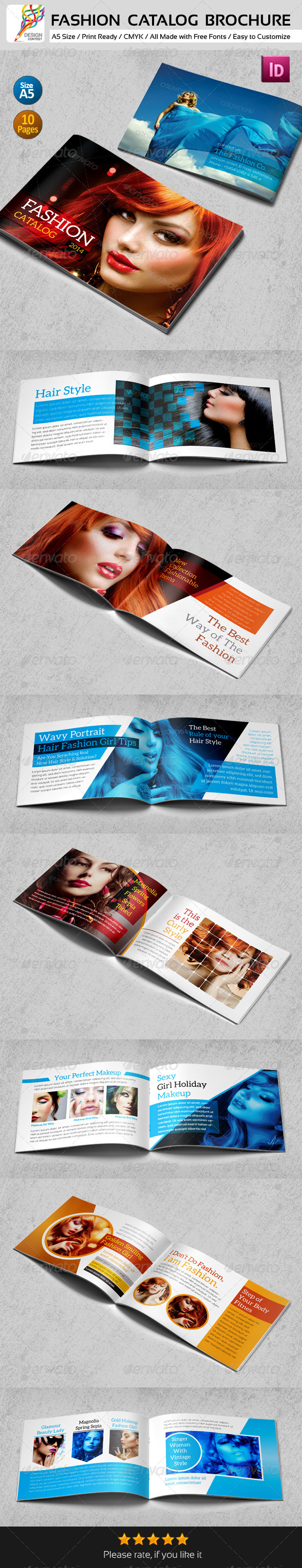 GraphicRiver 16 Pages A5 Fashion Catalog Brochure 5167304