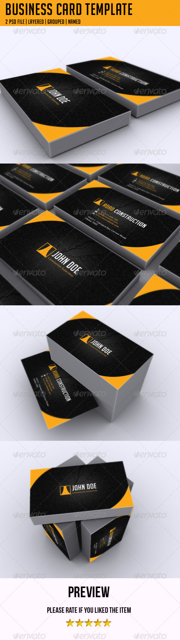 GraphicRiver Business Card Template 5167314