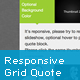 jQuery Responsive Grid Quote - CodeCanyon Item for Sale