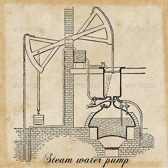 GraphicRiver Steam Water Pump 5167929