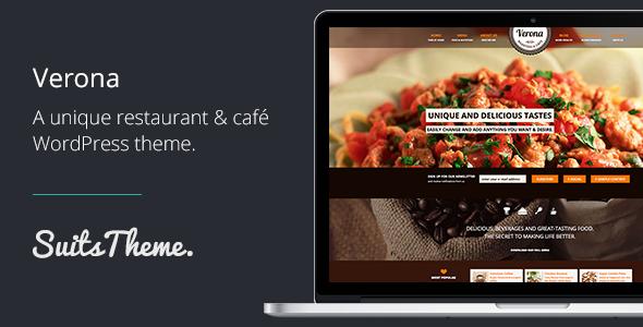 ThemeForest Verona Restaurant&Cafe Responsive WordPress Theme 5161698
