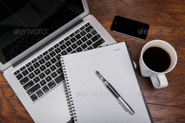 Working Desk - Stock Photo - Images