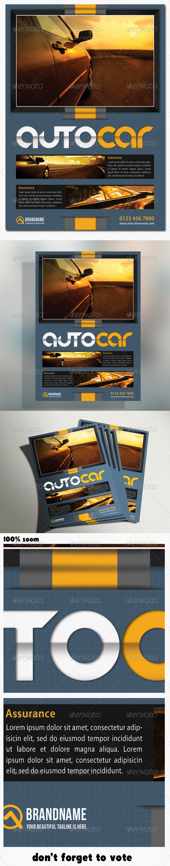 GraphicRiver Corporate Creative Product Flyer 5102311