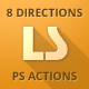 Long Shadow PS Actions Bundle - GraphicRiver Item for Sale