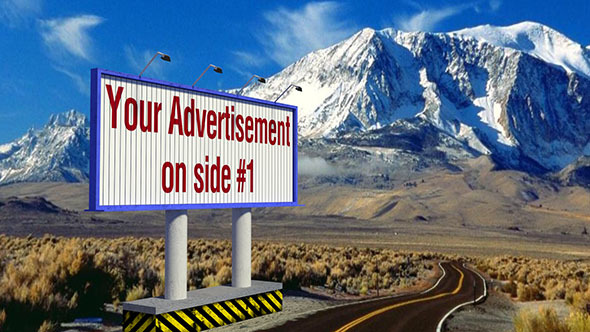 3DOcean Animated Rotating Billboard 5168981