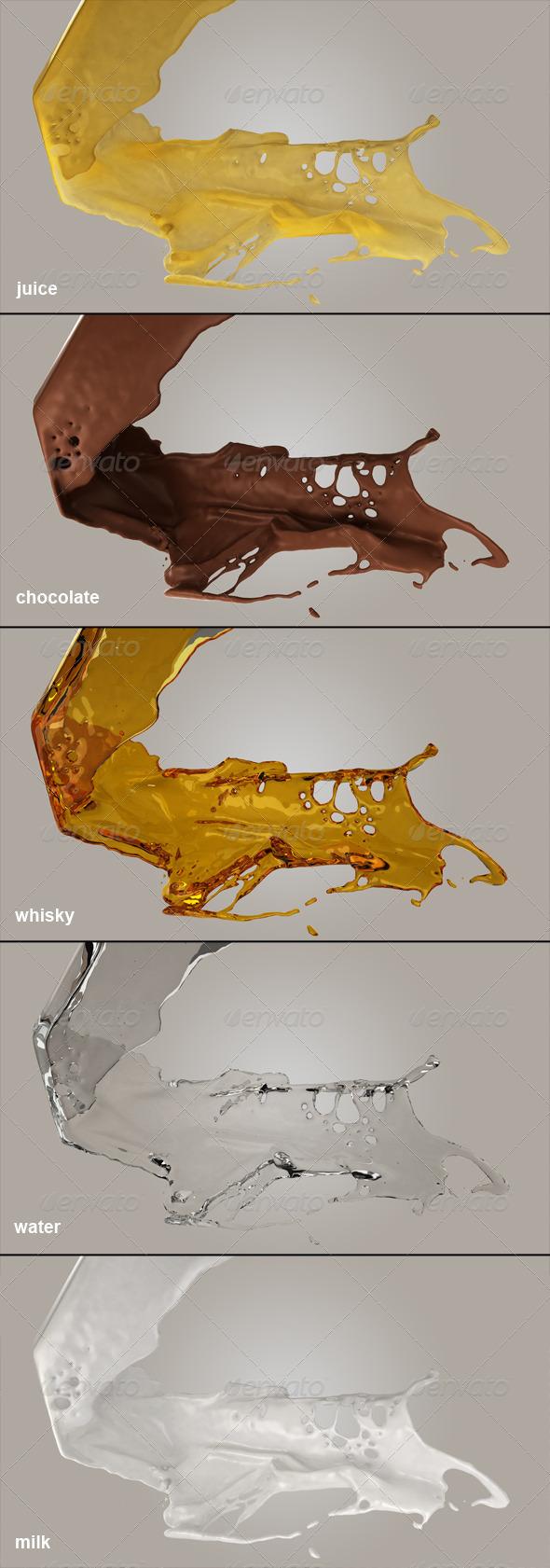 GraphicRiver Liquids 5168983