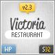 Victoria Premium Restaurant WordPress Theme  Free Download